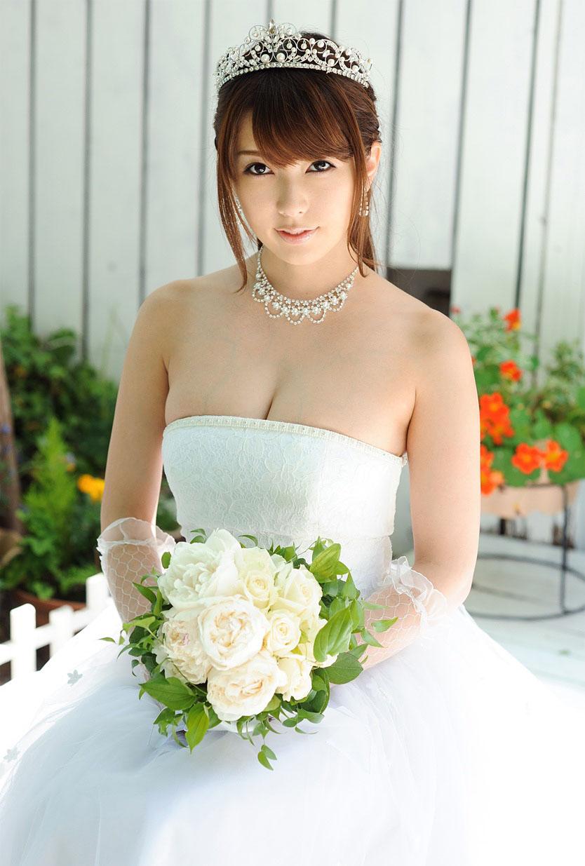 エロウエディングドレス 波多野結衣 セックス画像